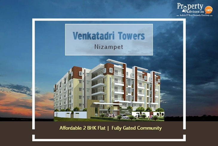 Affordable 2BHK Flats for Sale in Nizampet at Venkatadri Towers
