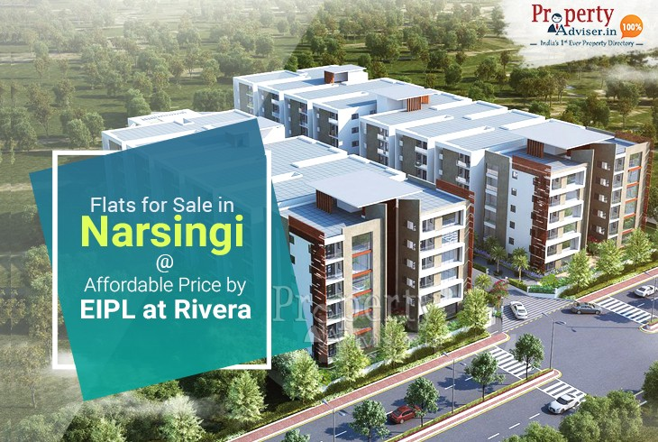 Affordable Luxury Flats for Sale in Narsingi at Rivera By EIPL