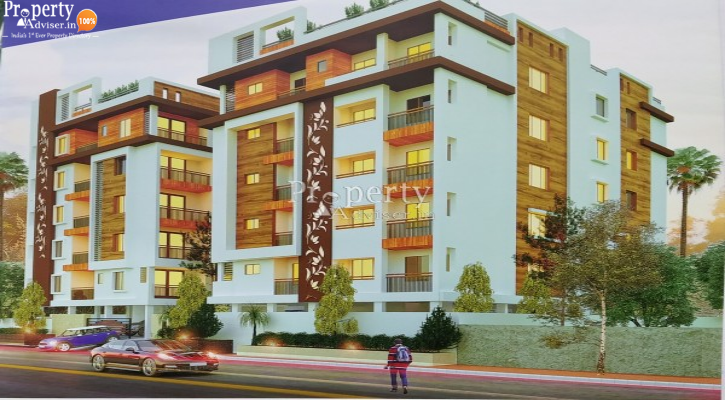 Akshita Heights Two - 1 Apartment for sale in Anand Bagh - 3134