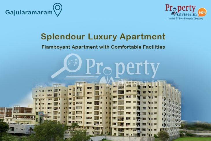 Flamboyant Apartment at Gajularamaram with Comfortable Facilities