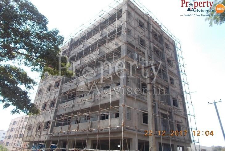 Apartment at Macha Bolarum Hyderabad completed Plastering work in Rajeswara Rao Residency