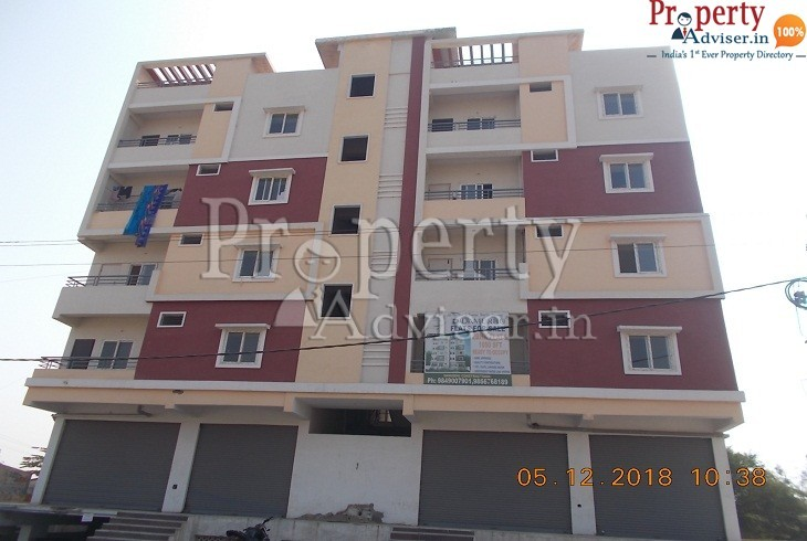 apartment for sale at Hyderabad Painting work in Damurhu Constructions is now completed