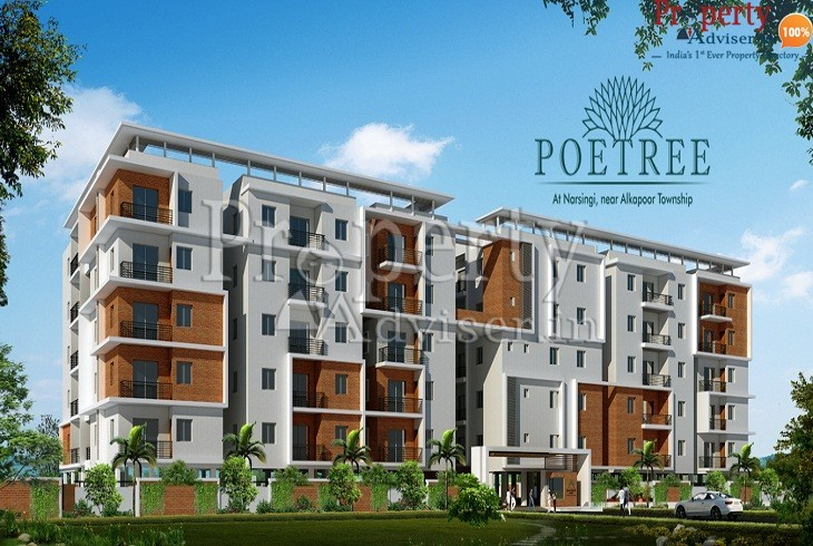Residential apartment for sale at Narsingi Hyderabad in Aryamitra Poetree Block - Erica