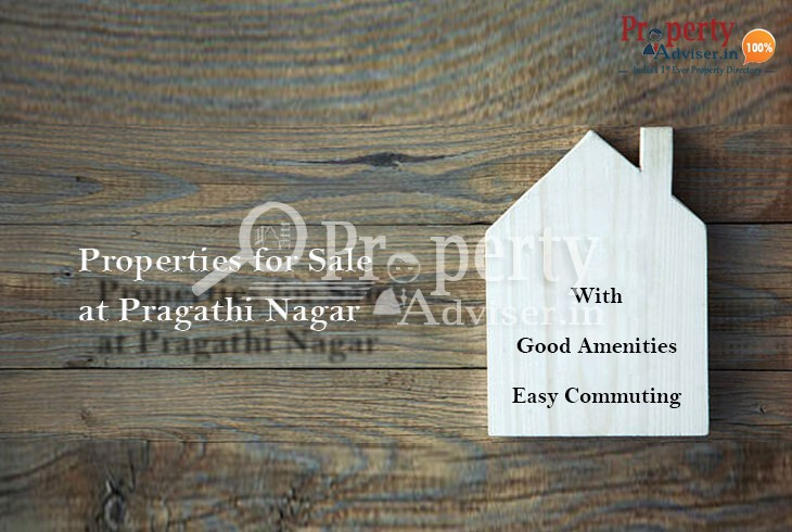 Designer apartments for sale in Pragathi Nagar