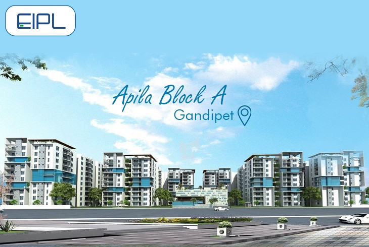 Apila - 2BHK Flats for Sale in Gandipet, Hyderabad