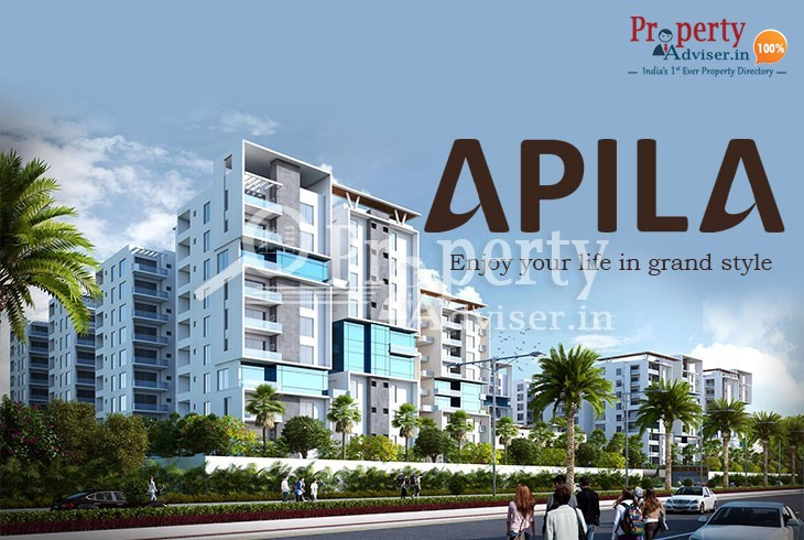 Apila 3BHK Flats for Sale in kokapet