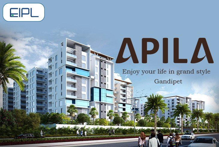 Apila 3BHK Flats for Sale in Gandipet