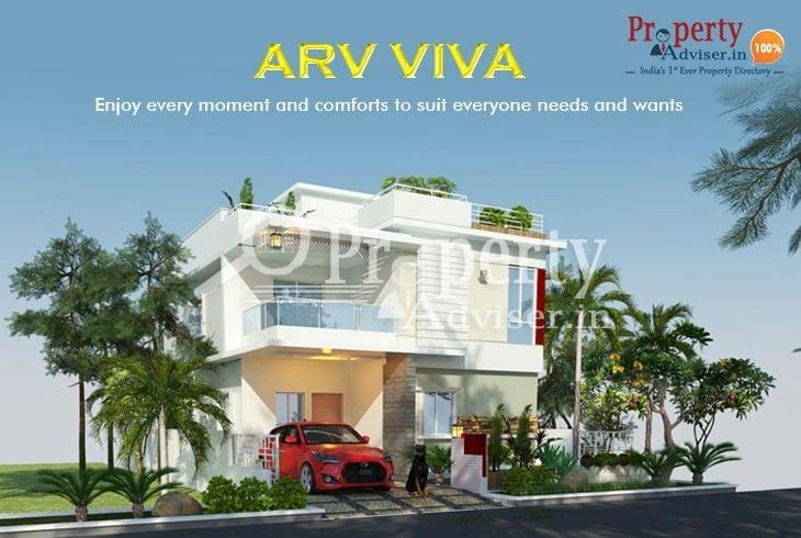 Buy an ARV VIVA Villa at Tellapur to Enjoy the Unique Luxury Facilities