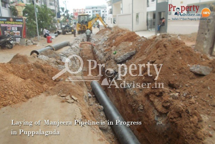 Infrastructure Development near Puppalaguda Residential Properties