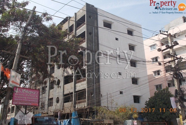 Bashani constructions 1 Residential Apartment Hyd Exterior painting work completed