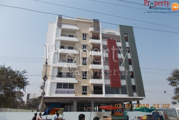 Beautiful Residential apartment for sale at Kukatpally Hyderabad in LVR Balaji