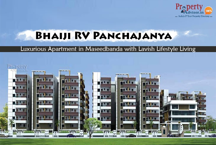 Bhaiji RV Panchajanya - Apartment in Maseedbanda with Lavish Lifestyle Living