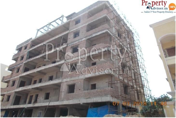 Brick Work is Completed in Sai Nivas Apartment at Gajularamaram