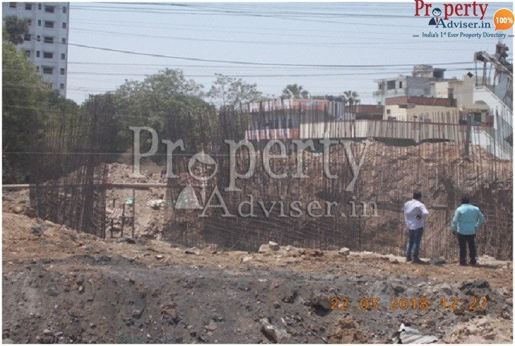 New Bridge Work is in Progress near Residential Projects at Suchitra Junction
