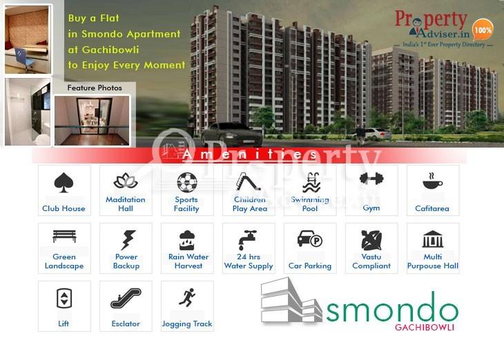 Buy a Flat in Smondo Apartment at Gachibowli to Enjoy Every Moment