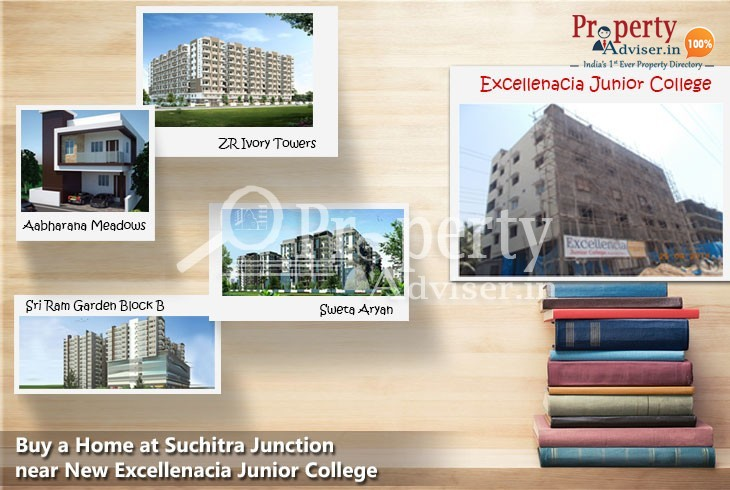 Buy a Home at Suchitra Junction near New Excellenacia Junior College