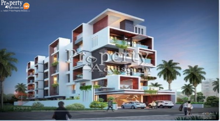 Buy APARTMENT at Dhamams Parkridge in Miyapur - 2665