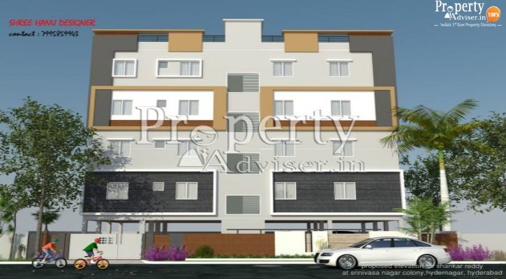 Buy Apartment at Shree Hanu Designer in Kukatpally - 2844