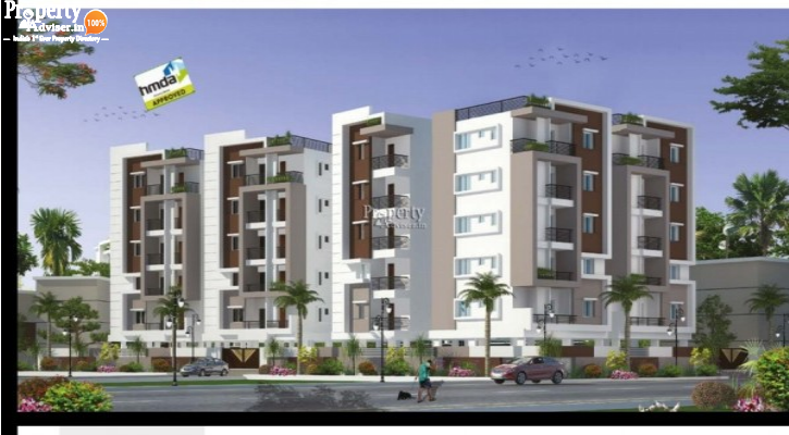 Buy Apartment at Sunyuga Hill View in Manikonda - 2894