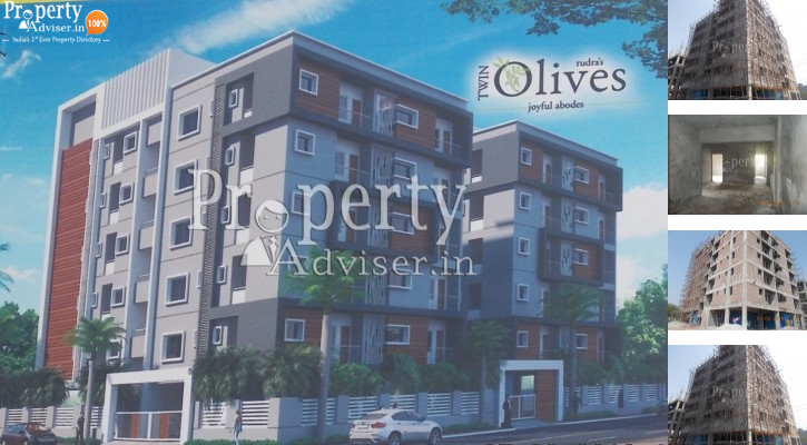Buy APARTMENT at Twin Olives Block-1 in Miyapur - 2666