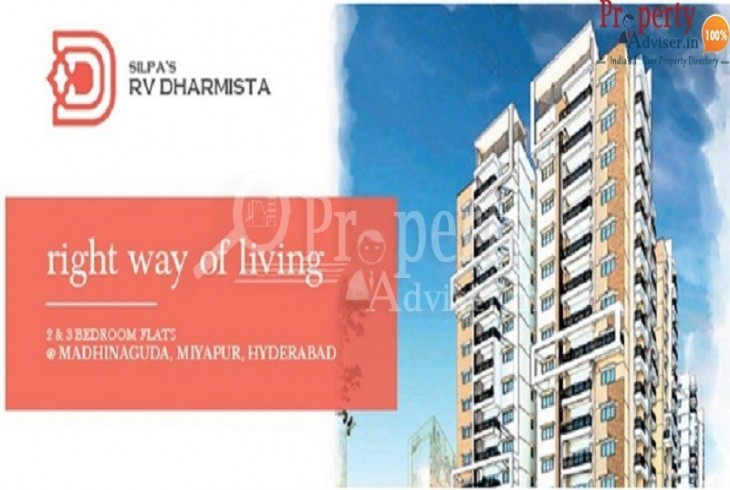 Buy Residential Apartment For Sale In Hyderabad  Silpas RV Dharmista Wing A