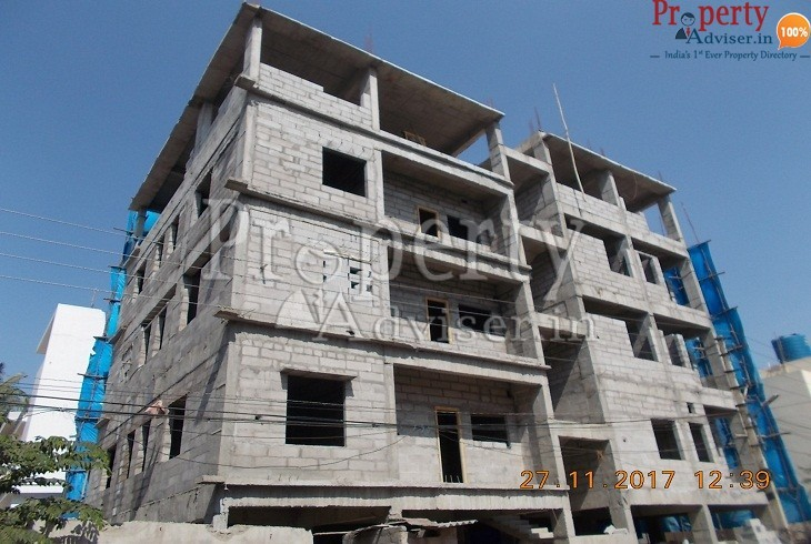 Residential apartment at Alwal Hyderabad paving the way for occupancy soon in Velu Residency