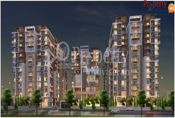 Well designed apartment at Hyderabad with developing roads at VAJRAS JASMINE COUNTY