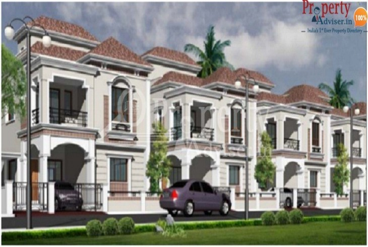 Buy  Residential villa for sale at Mallampet Hyderabad in Spring Woods