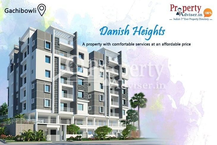 Danish Heights – 3BHK Premier Residential Apartment for Sale at Gachibowli
