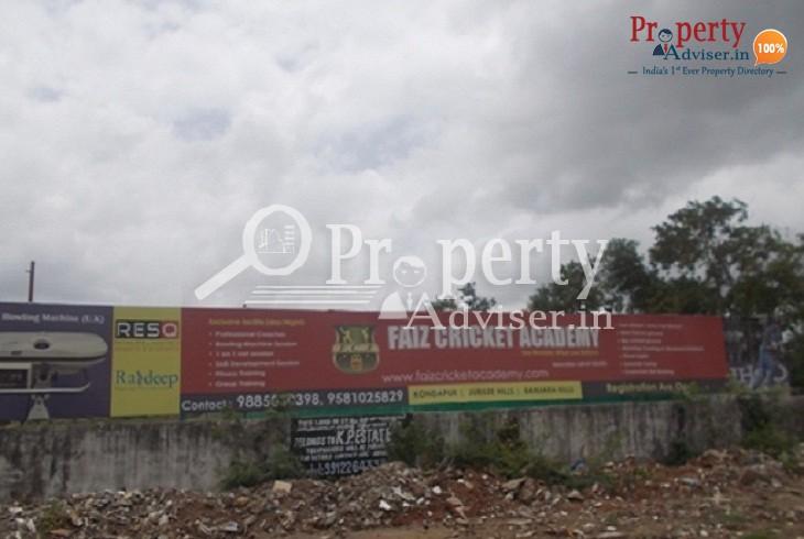 Cricket Academy in Kondapur at Hyderabad