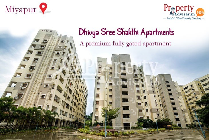 Dhivya Sree Shakthi Flats for Sale at Miyapur with Ultra Modern Facilities