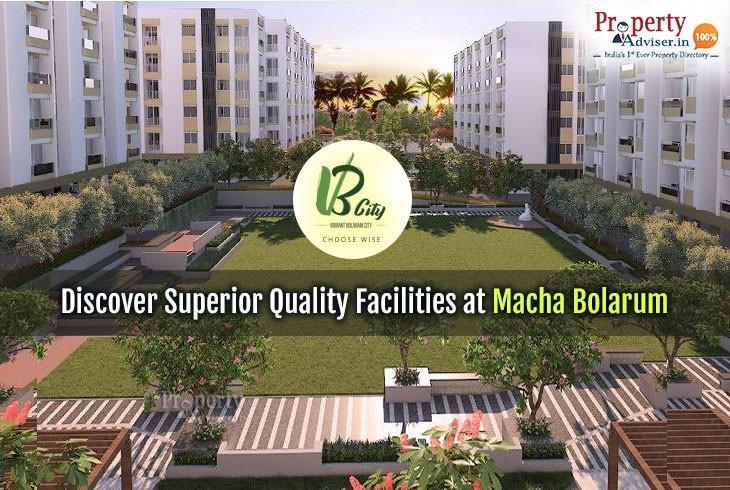 Discover Superior Quality Facilities at Incor VB City in Macha Bolarum