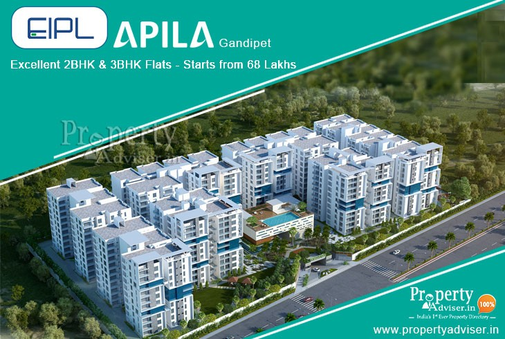EIPL Apila- A Gated Community Apartment in Gandipet