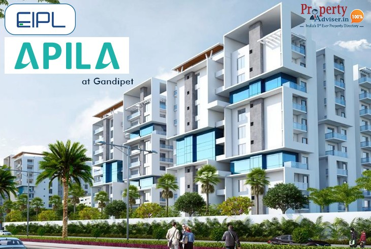 EIPL Apila Apartment Flats for Sale in Gandipet, Hyderabad