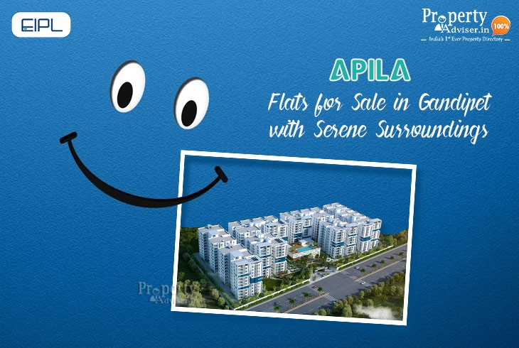 EIPL Apila Flats for Sale in Gandipet with Serene Surroundings