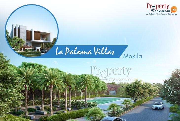 EIPL La Paloma Villas in Mokila with Beautiful Landscaping