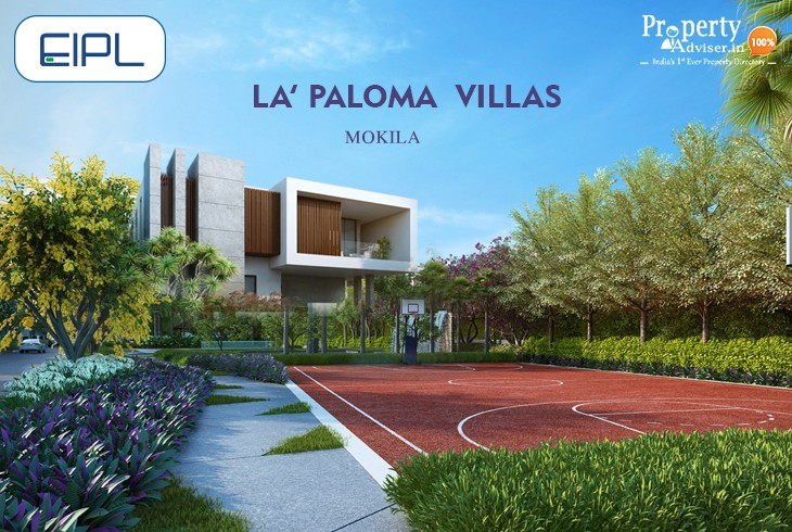 HMDA Approved EIPL La Paloma Villas in Mokila with Luxury Facilities