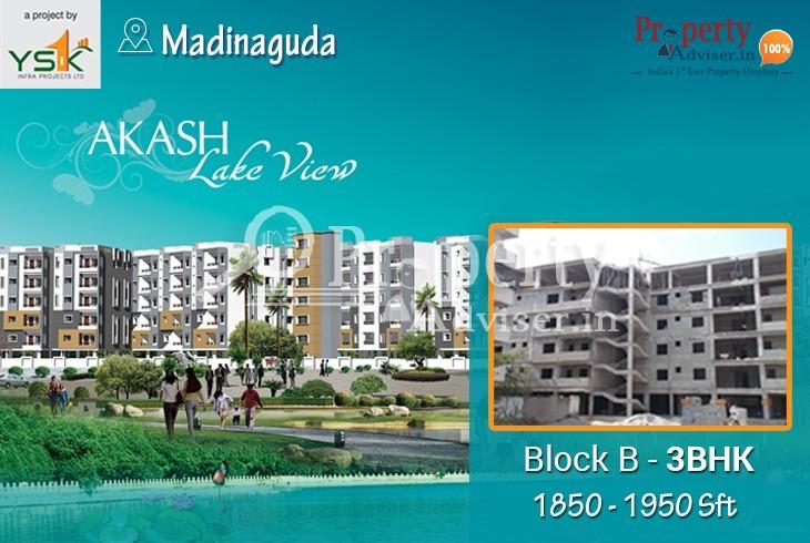 Elegant Apartment for sale at Madinaguda in Hyderabad