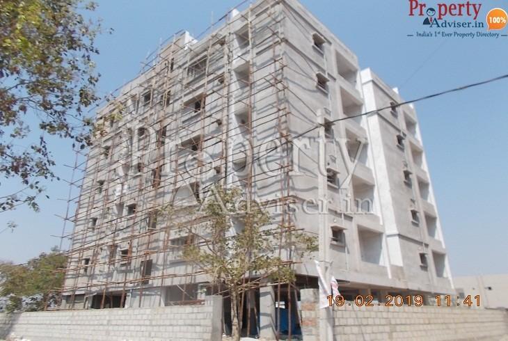 Elevation Plastering Work Completed at Krishna Rao Residency