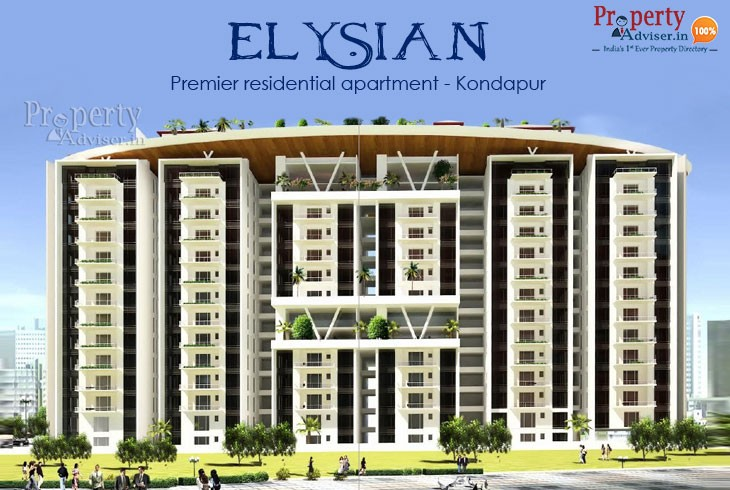 ELYSIAN Gated Community Apartments for sale in Kondapur