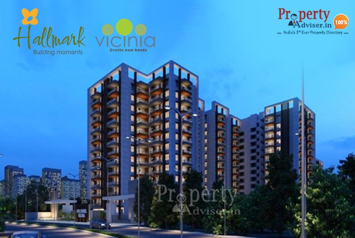 Hallmark Vicinia Gated Community Flats in Narsingi