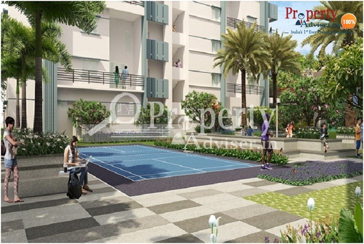 Enjoy the Soothing Atmosphere in The Lawnz Block – D Apartment at Kokapet