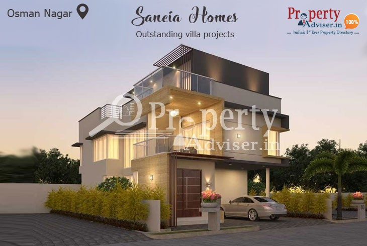 Exclusive Living and Lifestyle in Sancia Homes villa at Osman Nagar