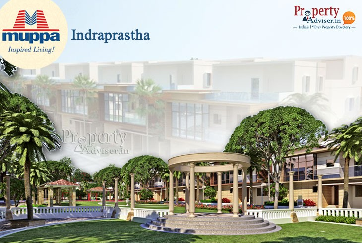 Eye Catching Muppas Indraprastha villas for Sale in Tellapur