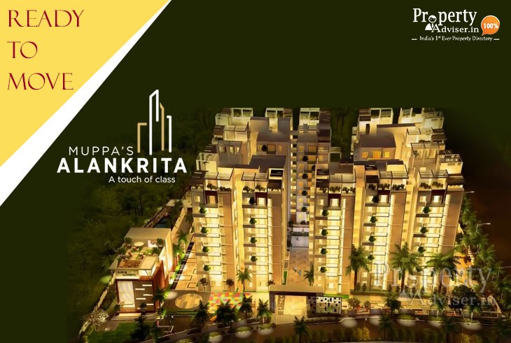 Spacious Flats for Sale at Muppa Alankrita Apartment in Narsingi