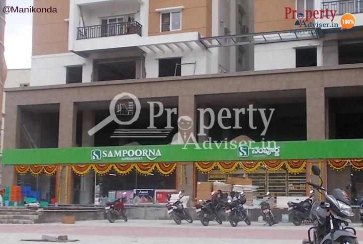 Flats for Sale in Manikonda near Sampoorna Super Market
