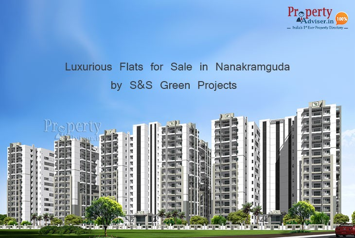 Green Grace Aurora Block Gated Community Apartments for sale in Nanakramguda