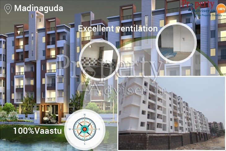 Gated Community Apartment at Madinaguda with Attractive Atmosphere