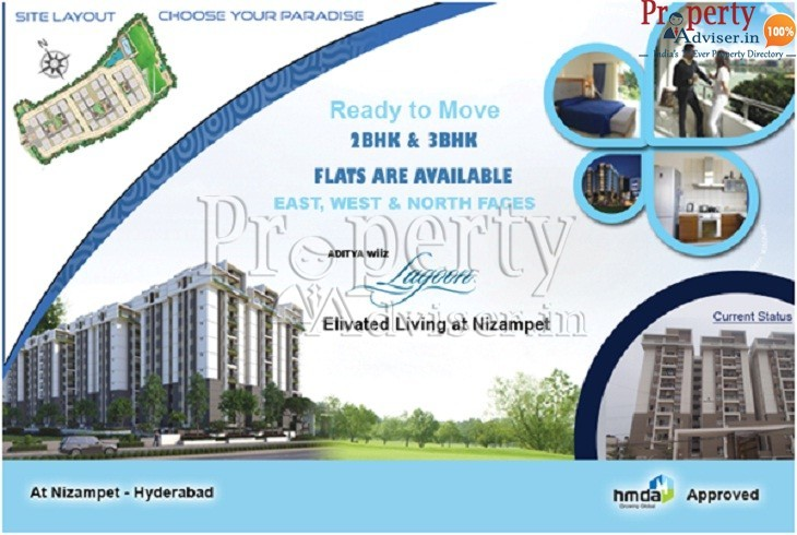 Gated Community Apartment at Nizampet with Modern Designs