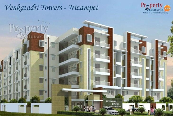 Gated Community Flats for Sale in Nizampet at Venkatadri Towers